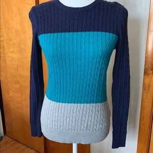 Women's IZOD cable knit sweater